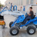 Multione-cutter-crusher for mini excavator