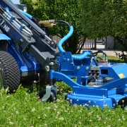 lawn-mower for mini loader
