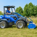 MultiOne mini loader 10 series with flail mower