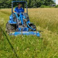 MultiOne mini loader 9 series with flail mower