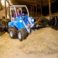 MultiOne mini loader S630 with manure fork