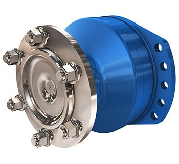 Radial piston wheel motor