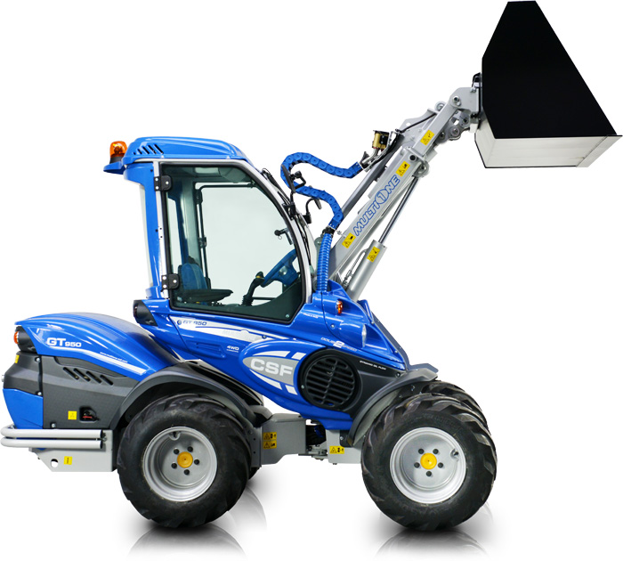 high geared mini loader