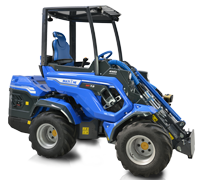 High Torque Articulated Mini Loader