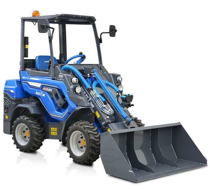 Compact Articulated Mini Loader - 6 Series - Multione