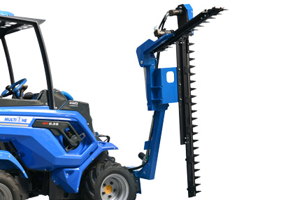 Multione-double-blades-hedge-trimmer-for mini loader