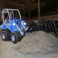 Heavy duty silage fork for mini loaders MultiOne 04