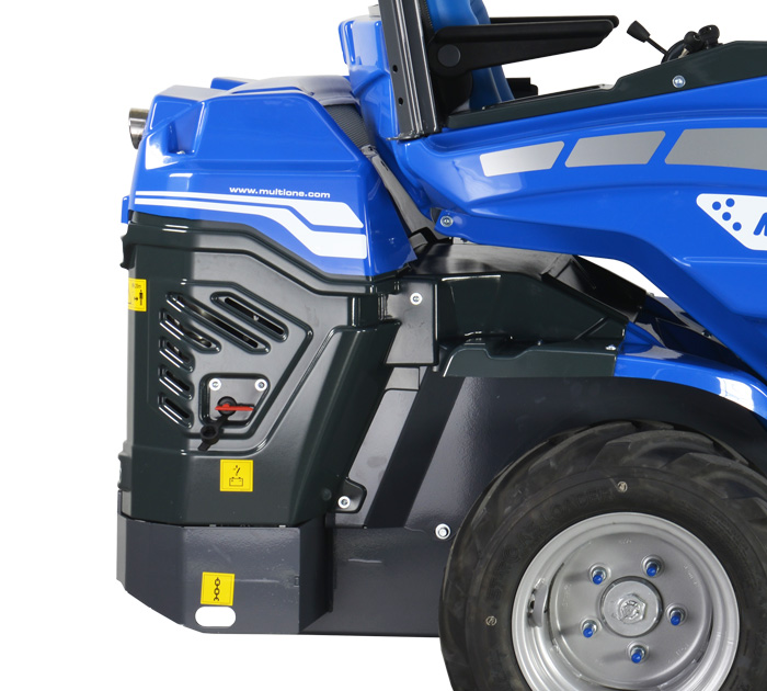 Multione mini articulated loader-rear-right