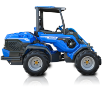 Heavy Duty Articulated Mini Loader