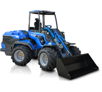 High Power Articulated Mini Loader
